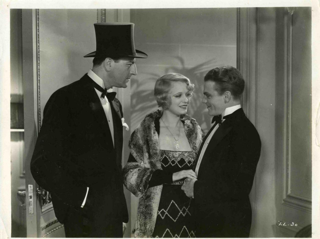... Louis Calhern, Noel Francis, James Cagney In Blonde Crazy (1931) ...