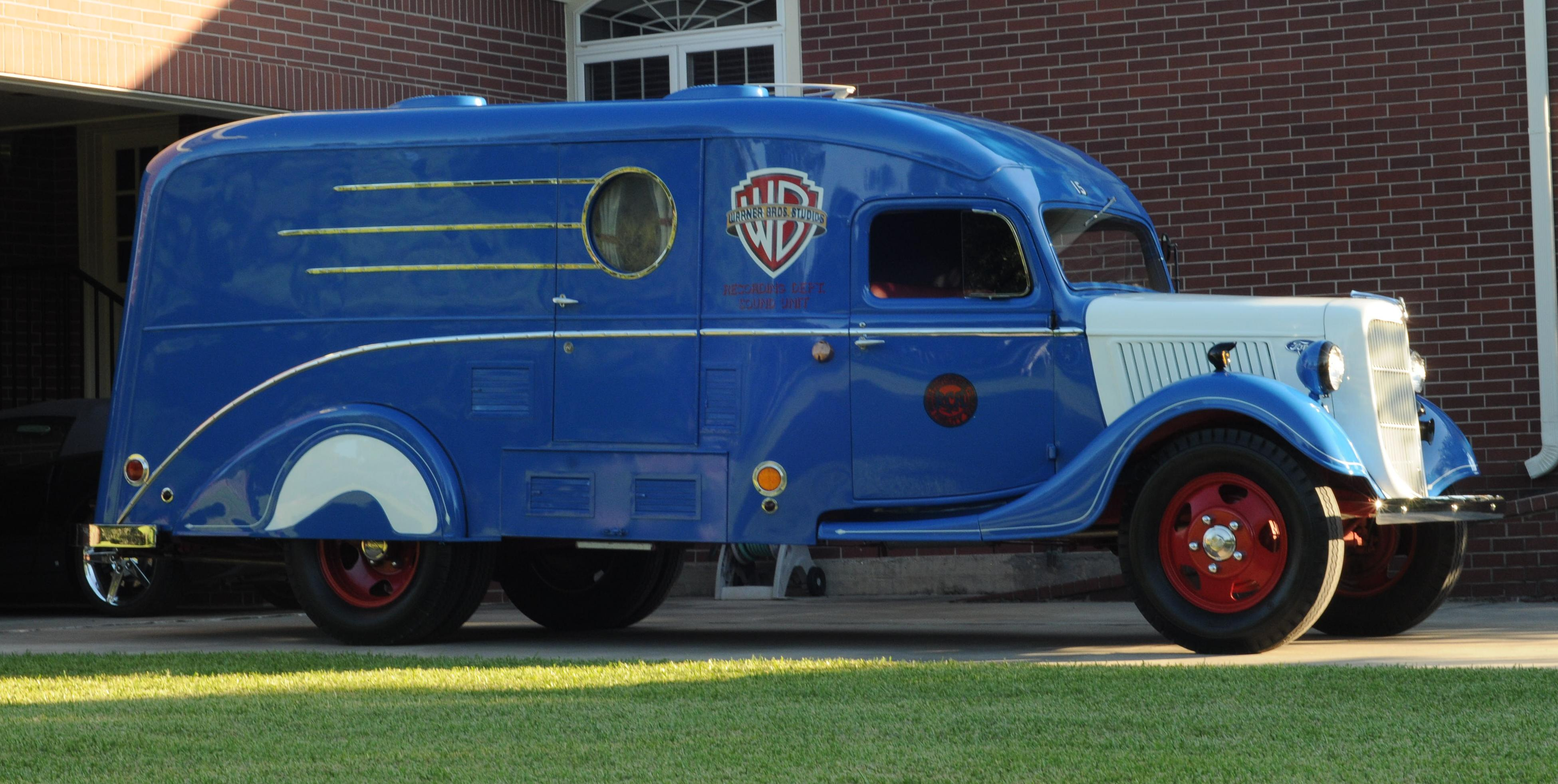 Warner Brothers Sound Truck