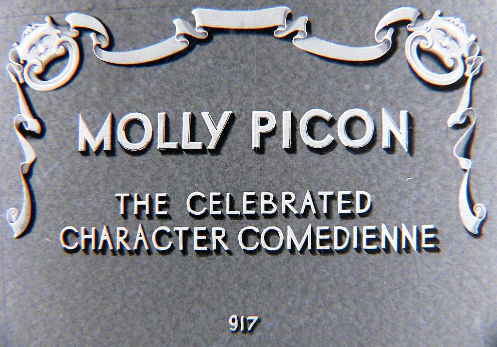 Molly Picon title card