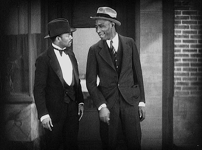 Harris & Radcliffe in 'AT THE PARTY' (1929)