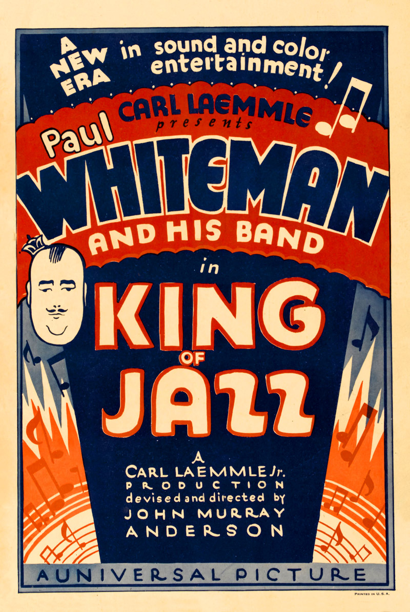 King Of Jazz ad