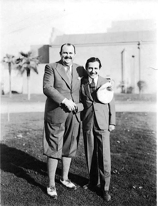 Paul Whiteman & Carl Laemmle, Jr.