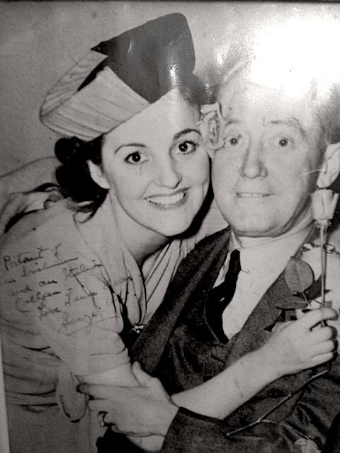 Tina with George M. Cohan