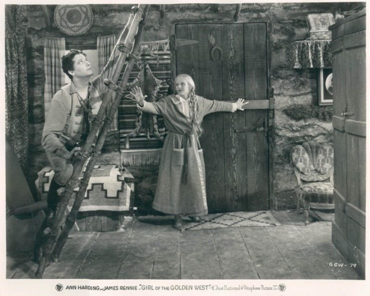 A still from the film starring Ann Harding & James Rennie
