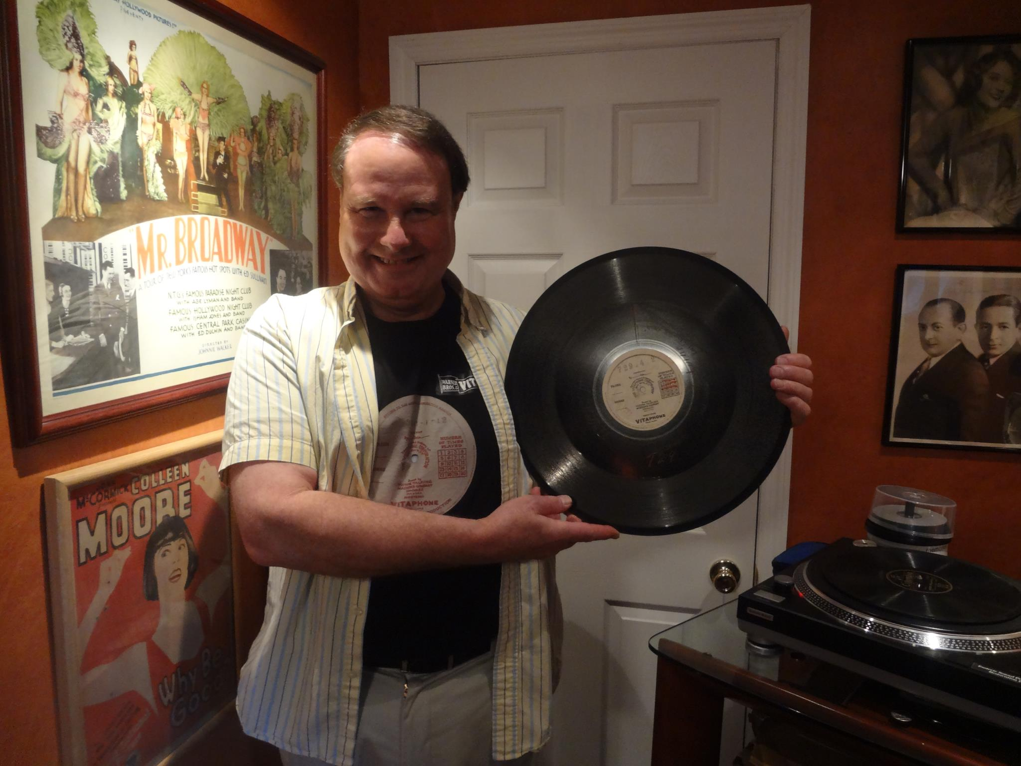 Ron Hutchinson finds Vitaphone records!