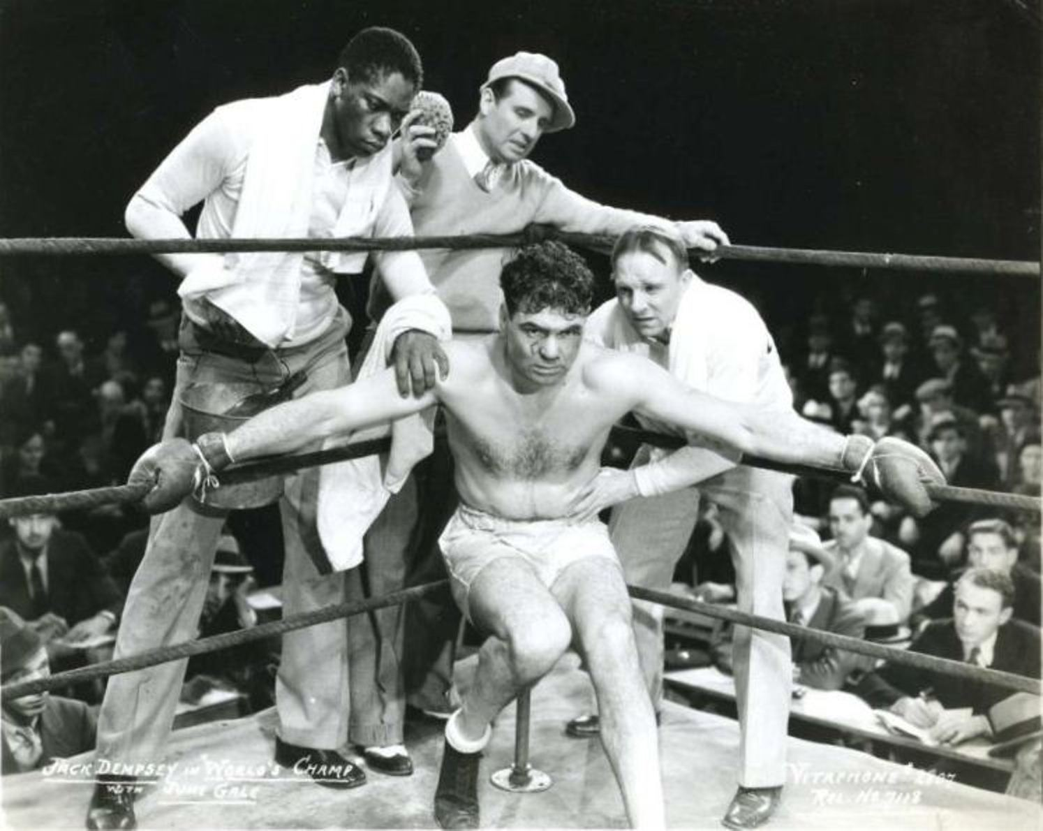 Jack Dempsey in World's Champ