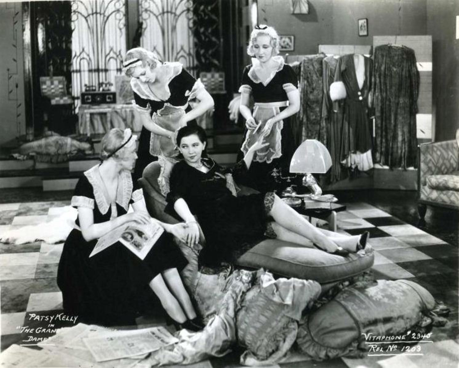 Patsy Kelly in The Grand Dame