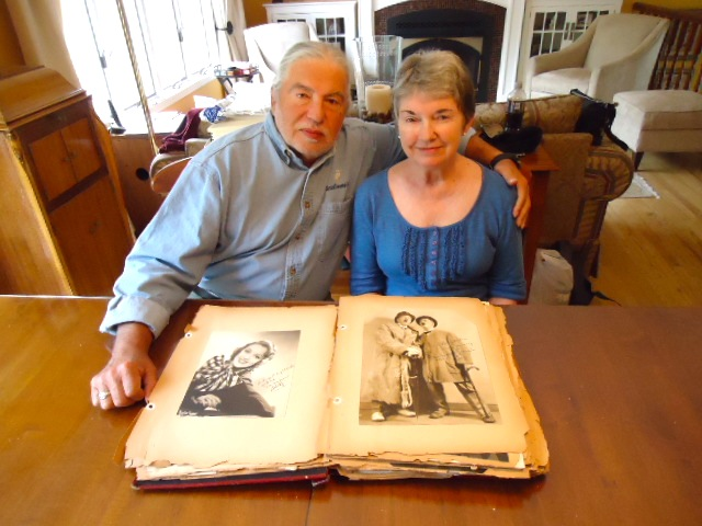 Richard & Ann Campbell and his mother Ginger Downey's scrapbook