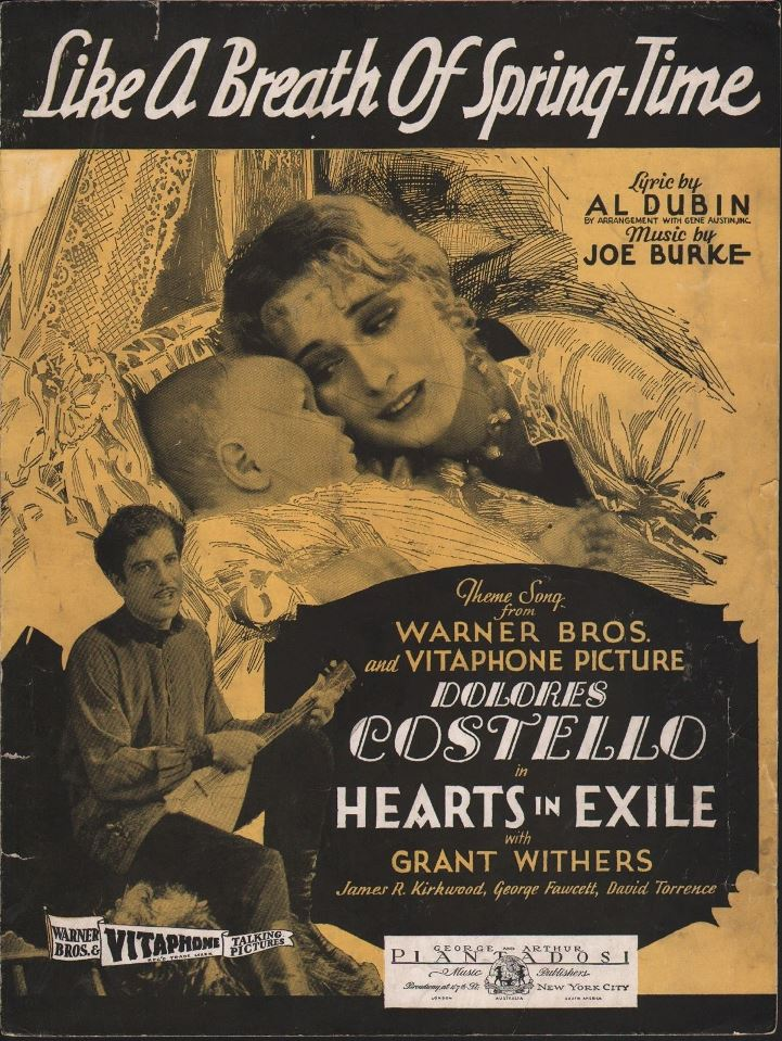 Hearts In Exile Sheet Music