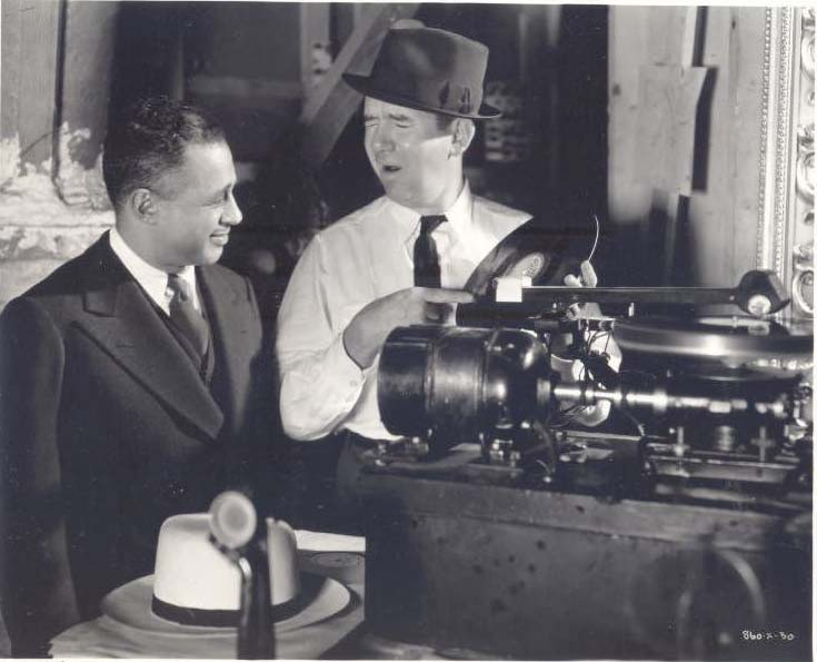 Ted Healy & unknown executive
